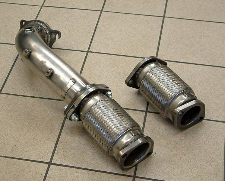 Mongoose Downpipe/Decat - Fiesta ST180 EcoBoost