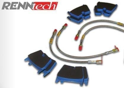 Mercedes S550 (2007-2013) - RENNtech Performance Brake Kit - Stage 1