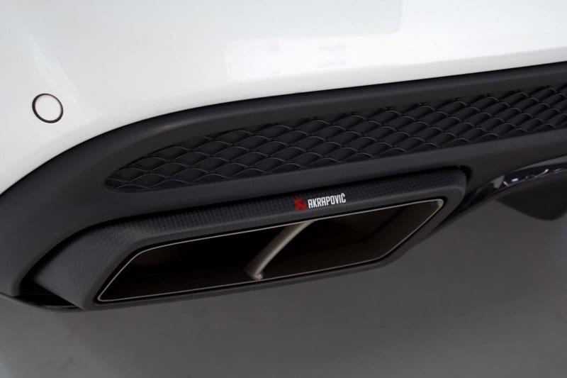 Mercedes C63S AMG Biturbo (2015on) - Akrapovic Exhaust System