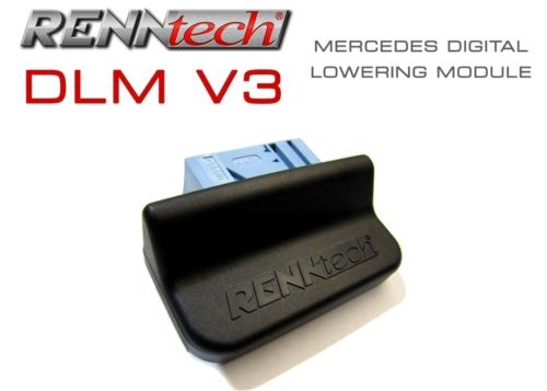 Mercedes E63 AMG (2010-2011) - RENNtech V3 Digital Suspension Lowering Module