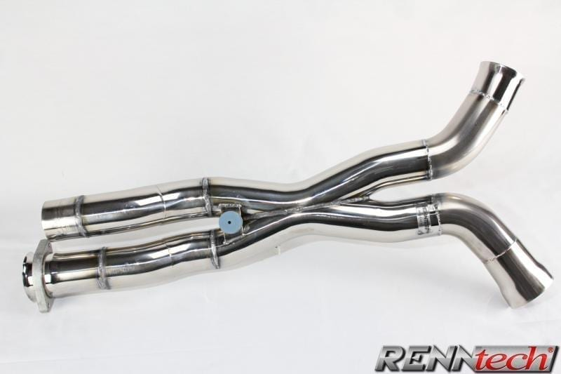 Mercedes E63 AMG (2010-2011) - RENNtech Stainless Steel Sound and Performance Pipe