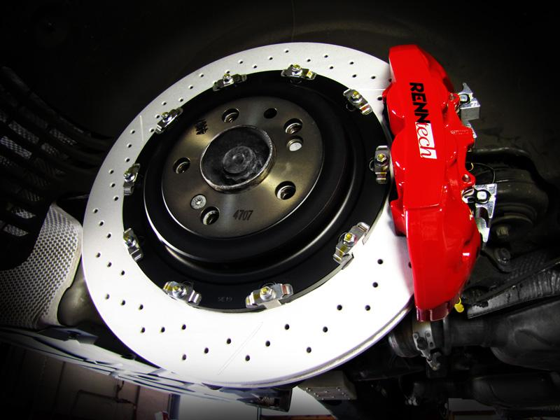 Mercedes G55 AMG Kompressor (2005-2011) - RENNtech Performance Brake Kit - Rear