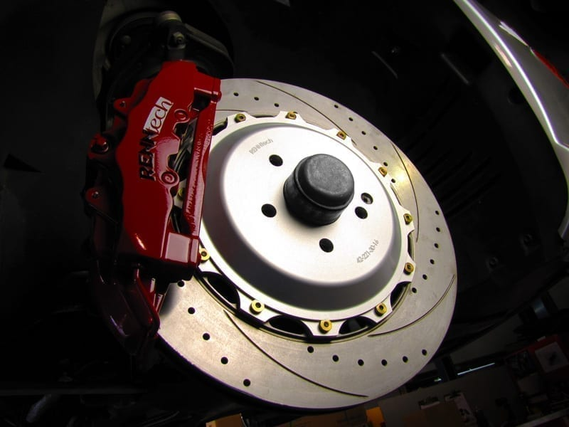 Mercedes SL500 (2003-2006) - RENNtech Performance Brake Package 4 - Front
